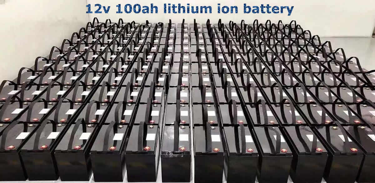 12v lithium ion battery factory