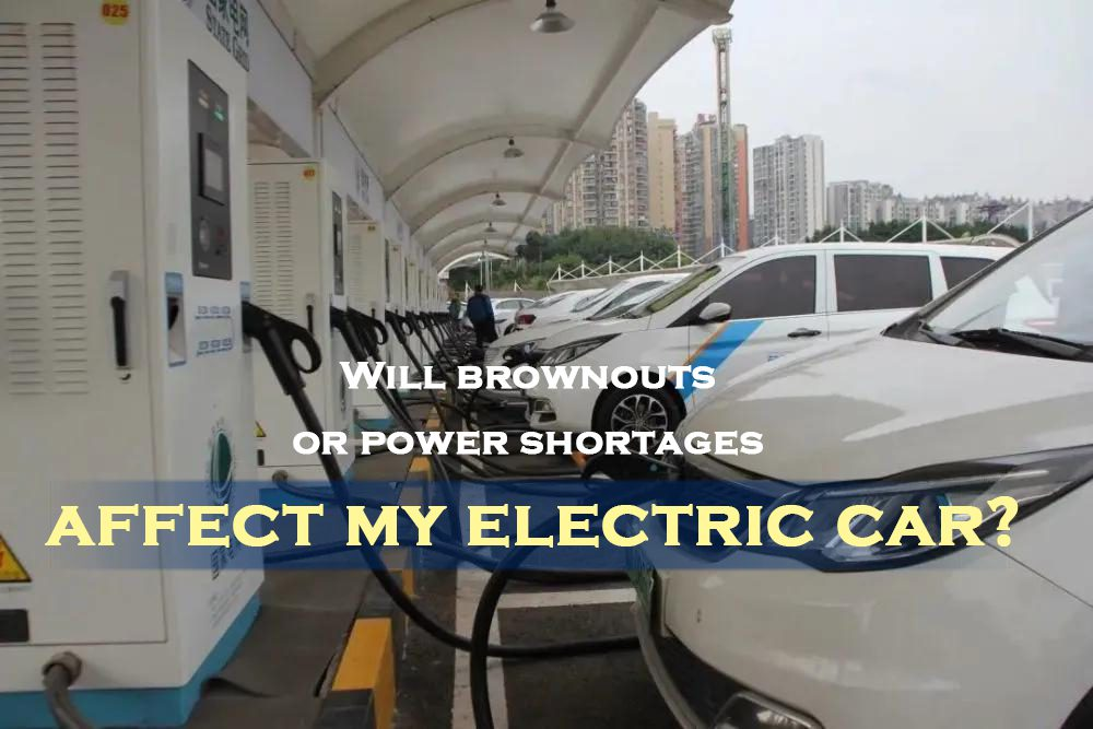 Will brownouts or power shortages affect my electric car
