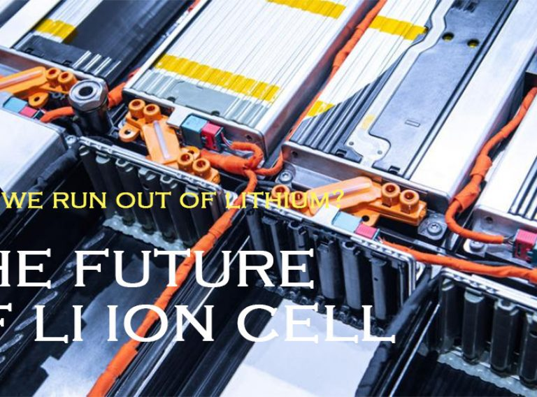 Will we run out of lithium The future of li ion cell